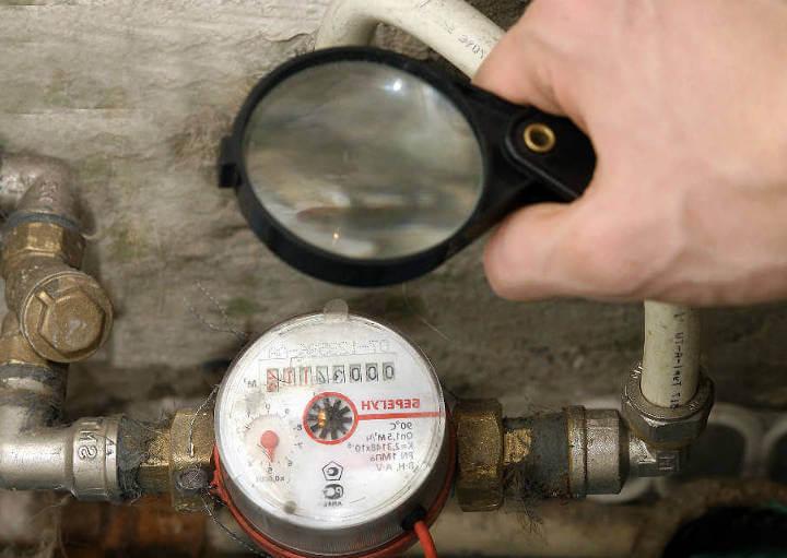 Проверить водяной счетчик на дому